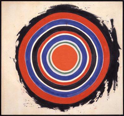 Kenneth Noland, Beginning 1958