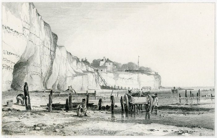 After E.W. Cooke, Pegwell Bay 1830