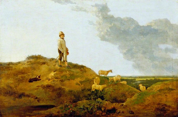 John Crome, View on Mousehold Heath, Near Norwich c.1812