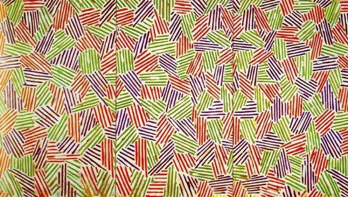 Jasper Johns Scent 1973–4