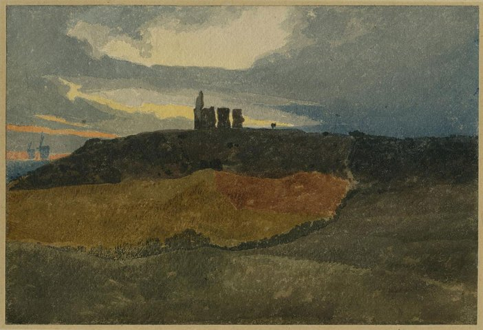 John Sell Cotman, Kett's Castle, Norwich c.1809–10