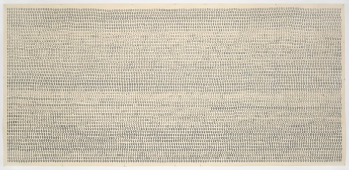 Joel Shapiro, Fingerprint Drawing 1969