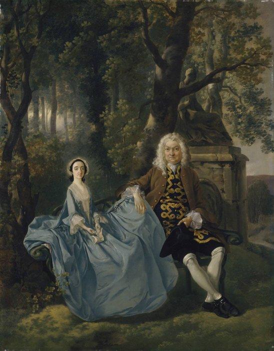 Thomas Gainsborough, Mr and Mrs Carter c.1747–8