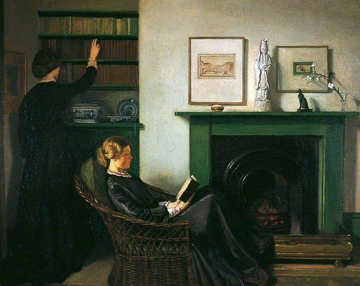 William Rothenstein The Browning Readers 1900
