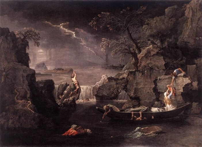 Nicolas Poussin, Winter (The Deluge) 1660–4