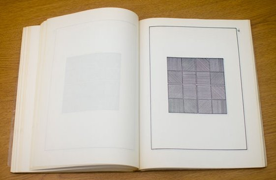 Sol LeWitt, Page from The Xerox Book 1968