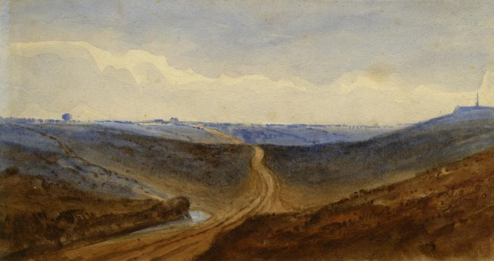Obadiah Short, Sketch of Mousehold Heath undated