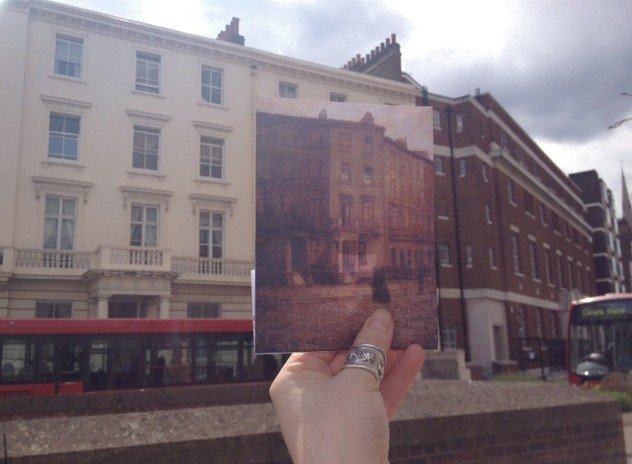 Finding the site of Charles Ginner's Claverton Street today.