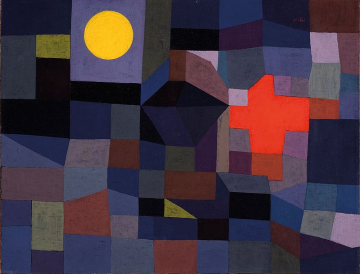 Paul Klee Fire at Full Moon 1933