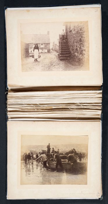 Photograph album given to Stanhope Forbes in April 1892