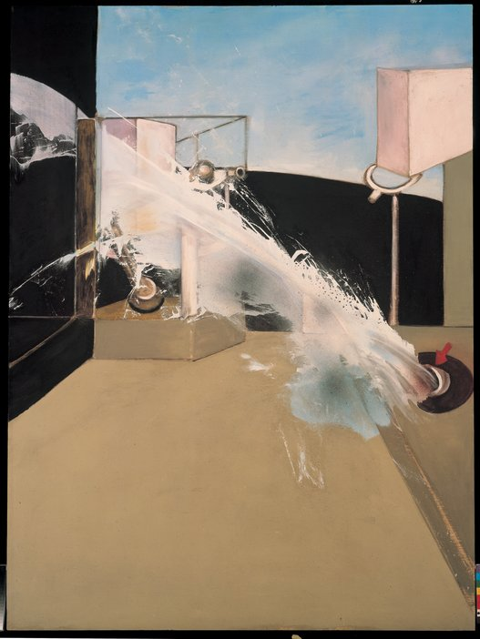 Francis Bacon Jet of Water 1988