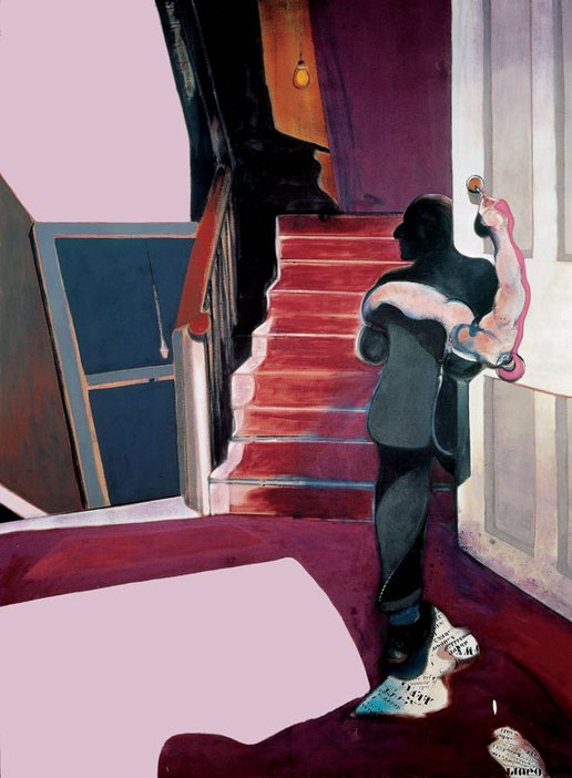 Francis Bacon Middle Panel of Triptych In Memory of George Dyer 1971