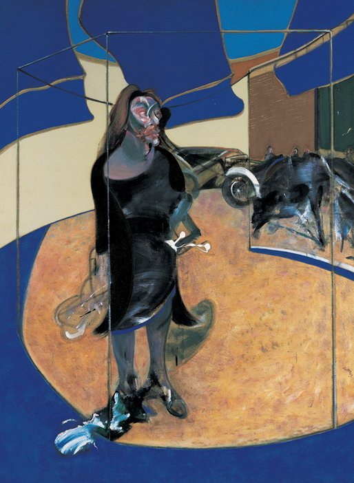 Francis Bacon Portrait of Isabel Rawsthorne Standing in a Street in Soho 1967