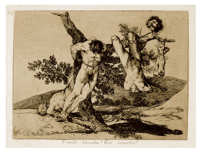 Francisco Jose de Goya y Lucientes Plate 39 from The Disasters of War 1810–20