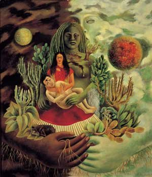 Frida Kahlo The Love-Embrace of the Universe