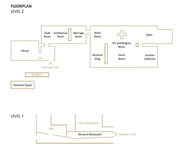 Floorplan Meschac Gaba Museum of Contemporary African Art exhibition at Tate Modern