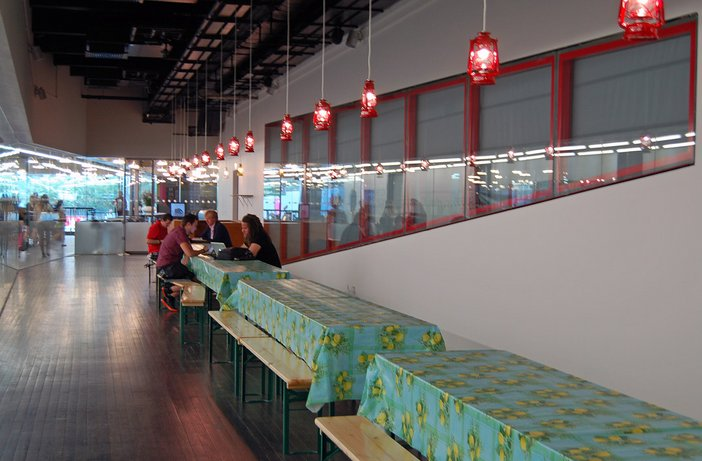 Meschac Gaba Museum Restaurant From Museum of Contemporary African Art Installation at Tate Modern