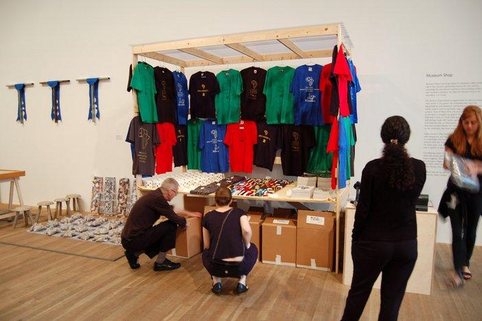 Meschac Gaba Museum Shop from Museum of Contemporary African Art Installation at Tate Modern