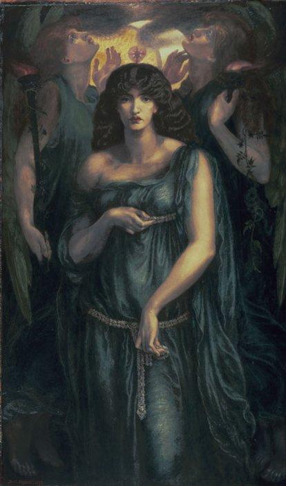 Dante Gabriel Rossetti Astarte Syriaca 1877