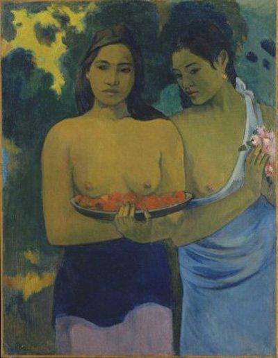 Gauguin Two Tahitian Women