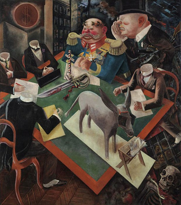 George Grosz The Eclipse of the Sun 1926