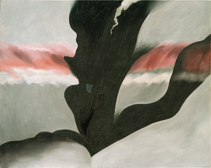 Georgia O'Keeffe, Black Place Green, 1949
