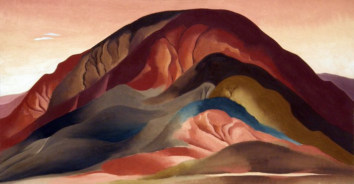Georgia O'Keeffe, Rust Red Hills, 1930
