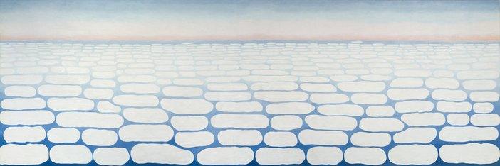 Georgia O'Keeffe, Sky Above Clouds IV, 1965