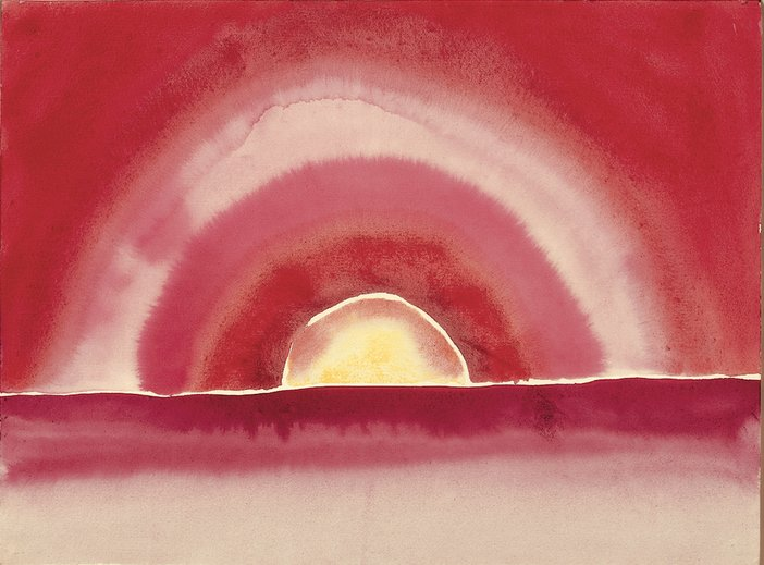 Georgia O'Keeffe, Sunrise, 1916