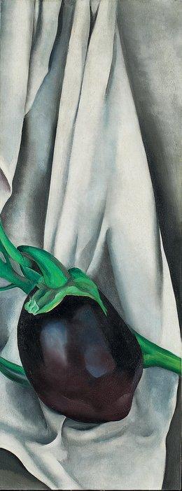 Georgia O'Keeffe, The Eggplant, 1924