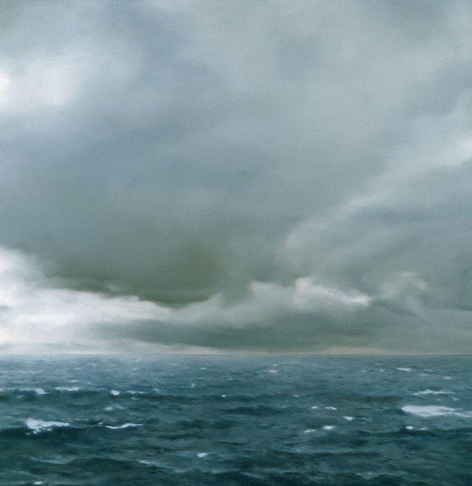 Gerhard Richter Seascape Cloudy 1969