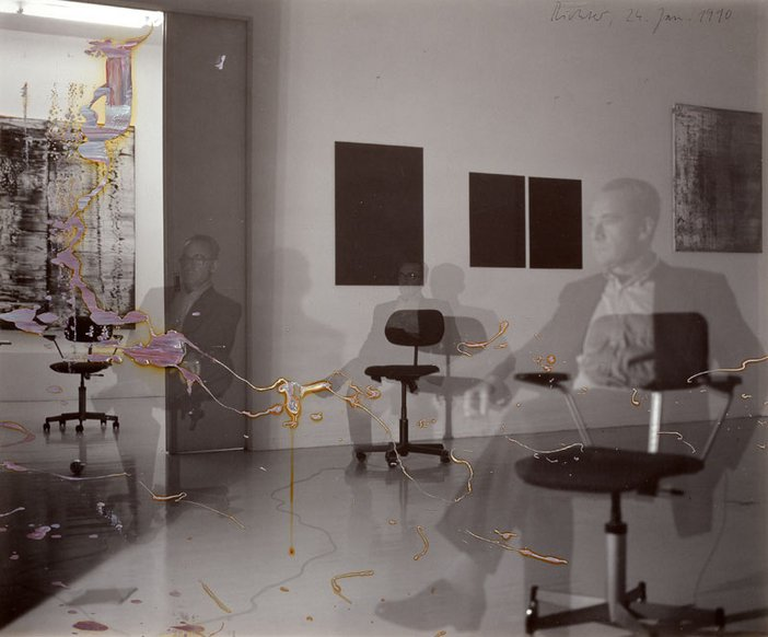 Gerhard Richter Self Portrait, Three Times 1990
