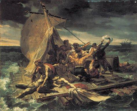 Théodore Géricault Study for Raft of the Medusa 1818 oil on canvas