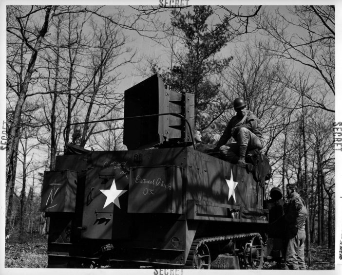 The Ghost Army, 1944, US National Archives
