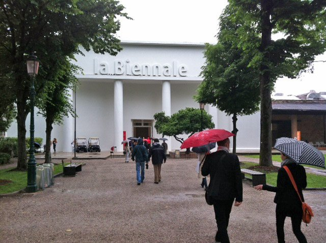 Entrance to La Biennale