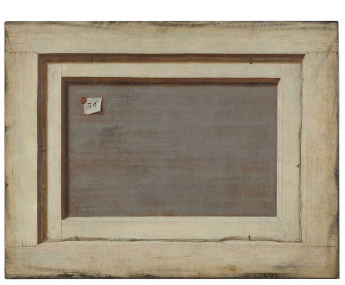 Cornelius Norbertus Gijsbrechts Trompe loeil The Reverse of a Framed Painting 1670
