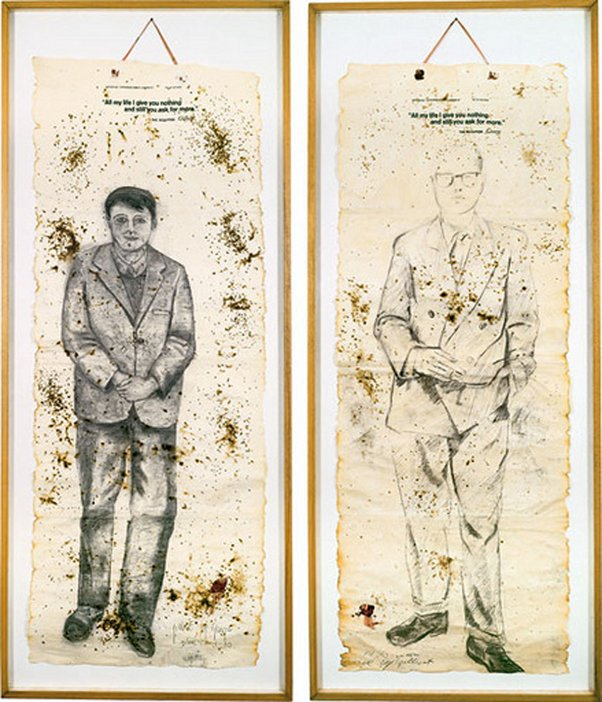 Gilbert and George All my life I give you nothing and still you ask for more 1970