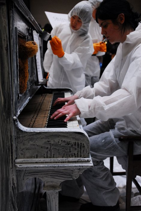 George Maciunas, Selection from 12 Piano Compositions for Nam June Paik 1962, performed at Tate Modern in 2008