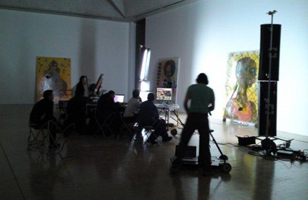 Google Art Project Glowy Night at the Museum Ofili 1