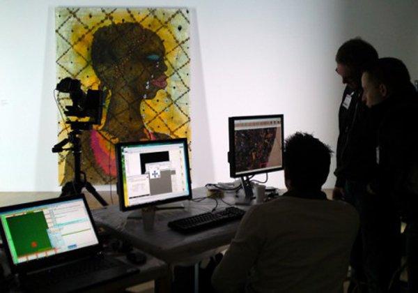 Google Art Project Glowy Night at the Museum Ofili 3