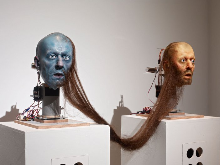 Nathaniel Mellors, Hippy Dialectics (Ourhouse) Animatronic sculpture
