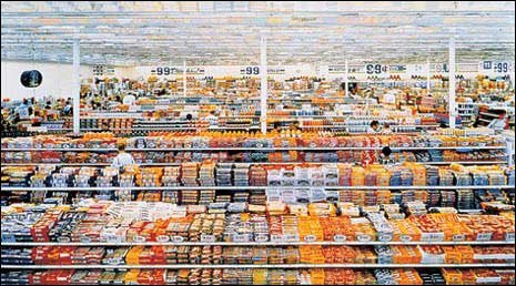 Andreas Gursky 99 Cent II 2001 Diptych