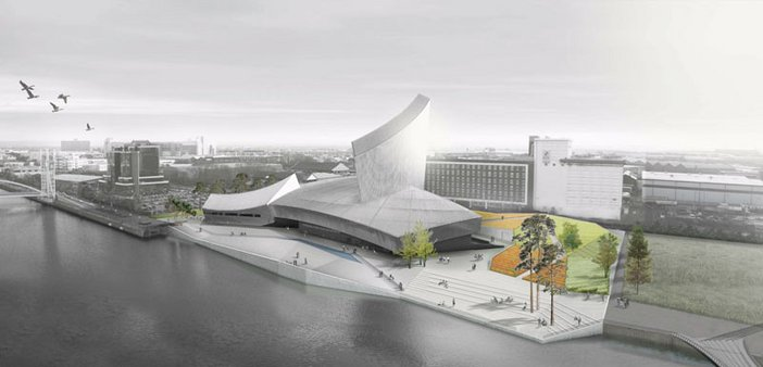 Daniel Libeskind Artists impression of the Imperial War Museum North