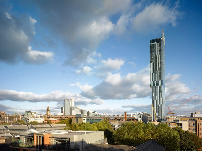 Ian Simpson Beetham Tower Manchester