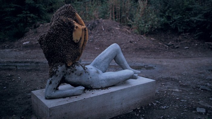 Pierre Huyghe, Untitled (Liegender Frauenakt) 2011-12