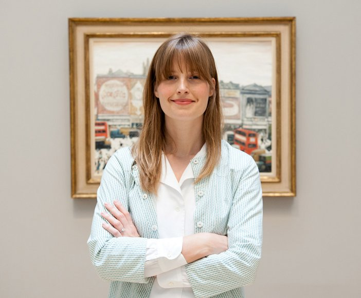 Assistant Curator of Lowry and the Painting of Modern Life Helen Little at Tate Britain