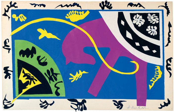 Henri Matisse The Horse, the Rider and the Clown 1943–1944