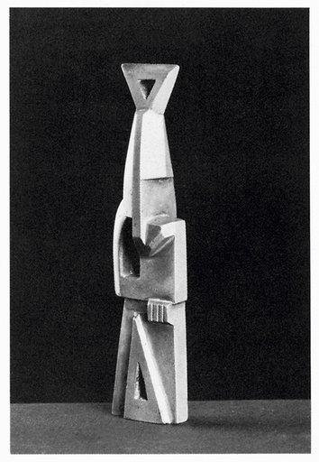Henri Gaudier-Brzeska bronze sculpture Torpedo Fish.