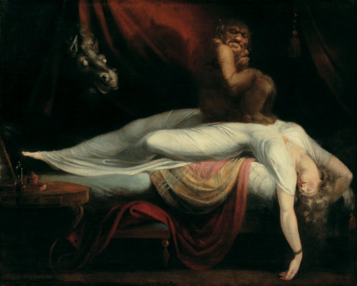 Henry Fuseli The Nightmare circa 1781–2