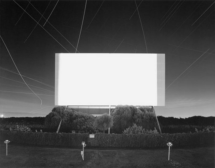 Hiroshi Sugimoto Union City Drive In Union City 1993